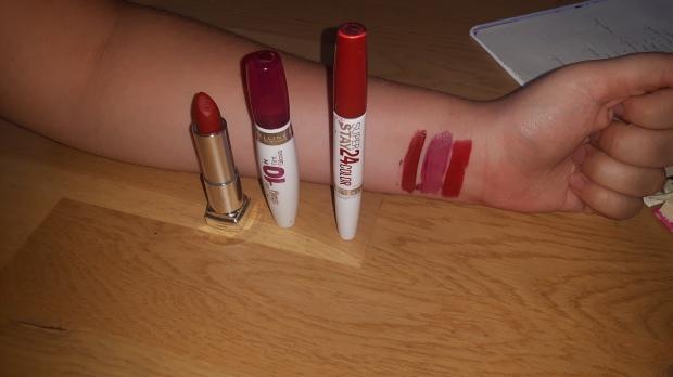 Gemey Maybelline ; RAL ; rouge à lèvres