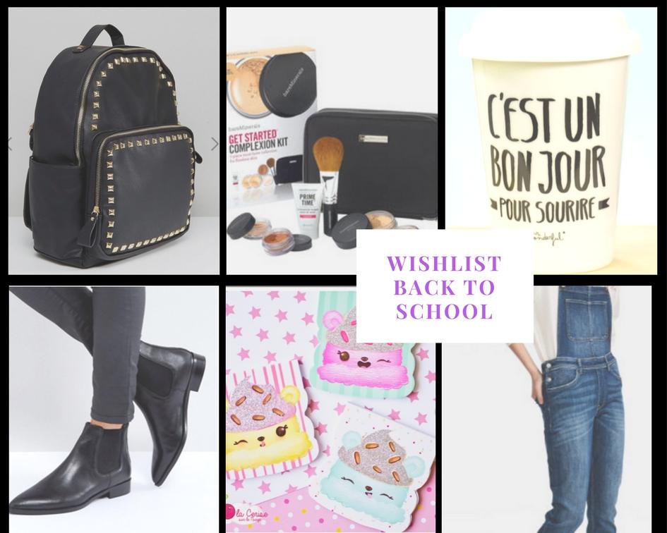 Wishlist , rentrée, back to school