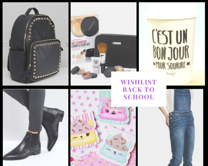 Wishlist , rentrée, back to school