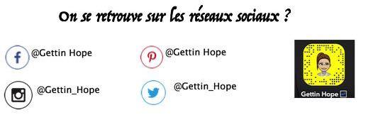 réseaux sociaux, gettin hope, instagram, twitter, facebook, pinterest
